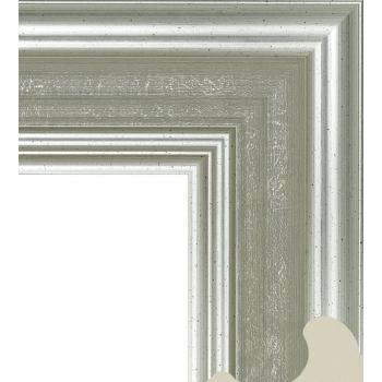 711.RS82.012 Пластиковый багет Серебряный