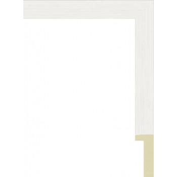 801.RS.138 Пластиковый багет Белый