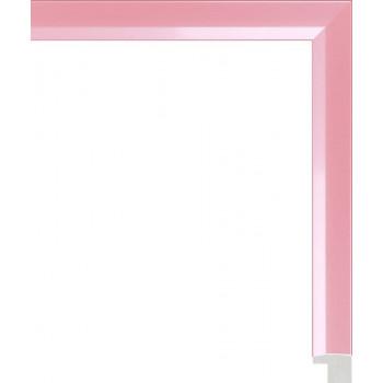 803.RS.013 Пластиковый багет Розовый