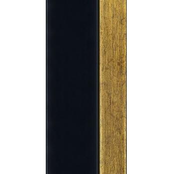 812.RS.020 Пластиковый багет Чёрный