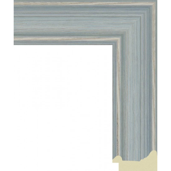 818.RS.312 Пластиковый багет Синий в интернет-магазине ROSESTAR фото