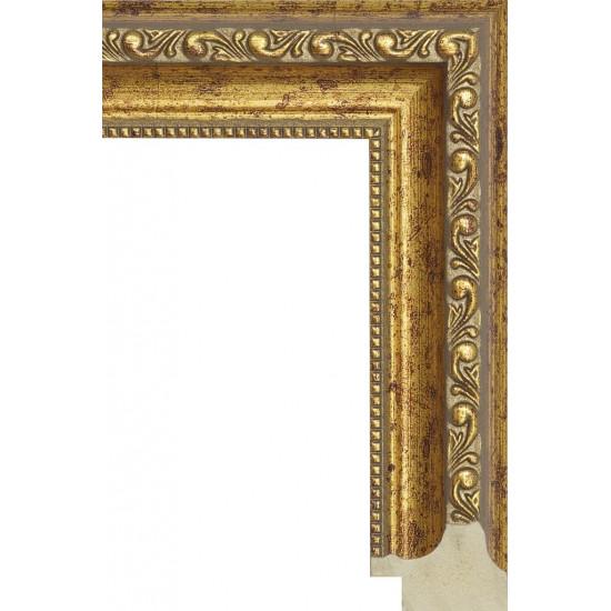 886.RS.274 Пластиковый багет Золотой в интернет-магазине ROSESTAR фото