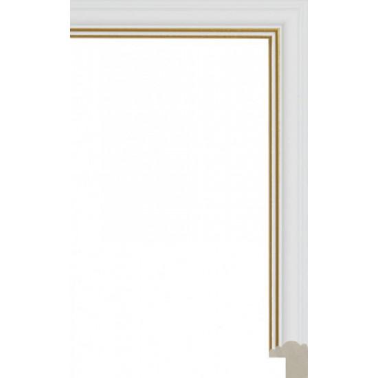 135N.RS.226 Пластиковый багет Белый в интернет-магазине ROSESTAR фото