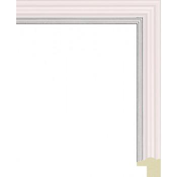 135N.RS.522 Пластиковый багет Розовый