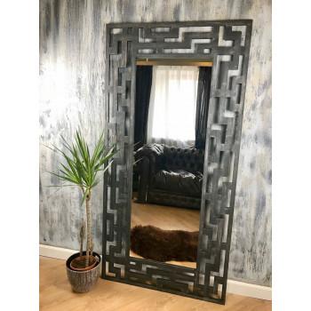Зеркало большое напольное и настенное в полный рост в серой раме Artek