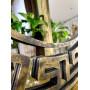 Круглое зеркало в золотой раме Epico в интернет-магазине ROSESTAR фото 1