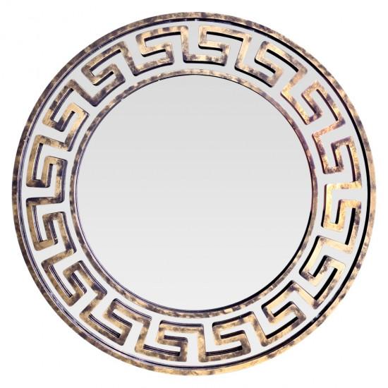 Круглое зеркало в золотой раме Epico в интернет-магазине ROSESTAR фото