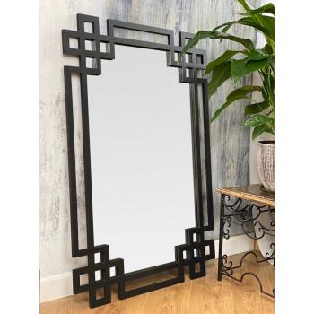 Зеркало в черной раме Rotonda