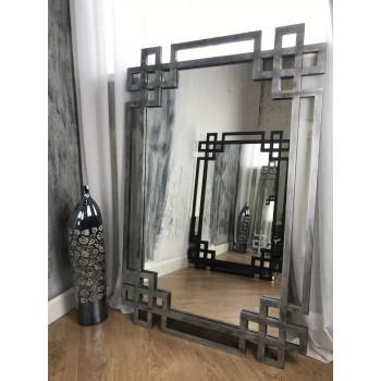 Зеркало в серебряной раме Silver Rotonda