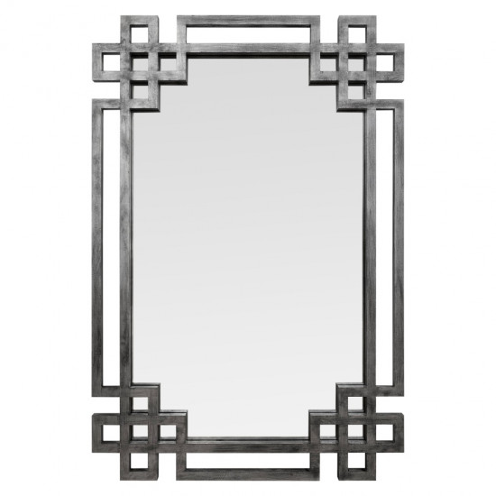 Зеркало в серебряной раме Silver Rotonda в интернет-магазине ROSESTAR фото