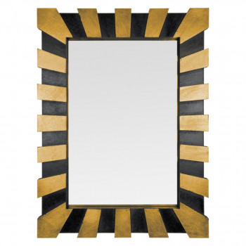 Зеркало в раме Golden Rays Золото, черный, поталь