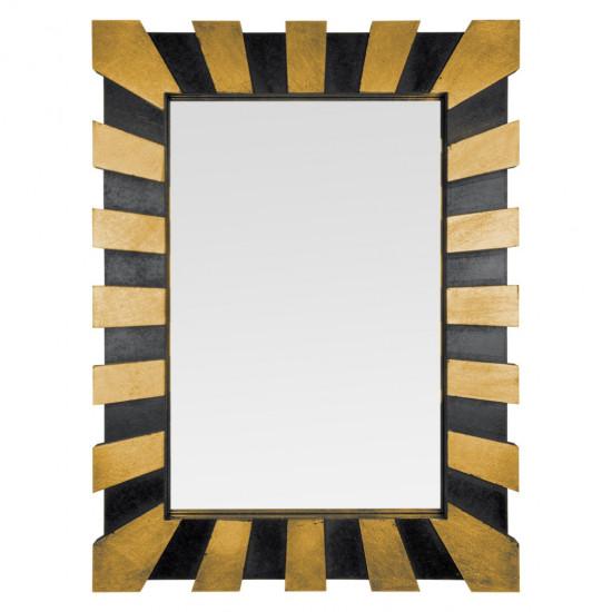 Зеркало в раме Golden Rays Золото, черный, поталь в интернет-магазине ROSESTAR фото