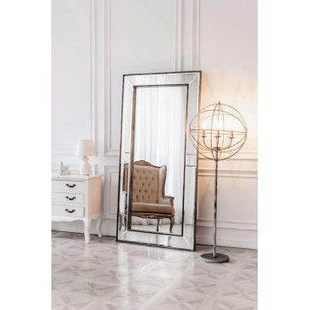 Зеркало большое напольное и настенное в полный рост в зеркальной раме Bruni