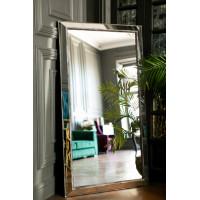 Зеркало большое напольное и настенное в полный рост в раме Miriada Silver