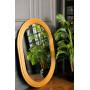 Овальное зеркало в золотой раме Roma в интернет-магазине ROSESTAR фото