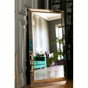 Зеркало большое напольное и настенное в полный рост в зеркальной раме Miriada Gold