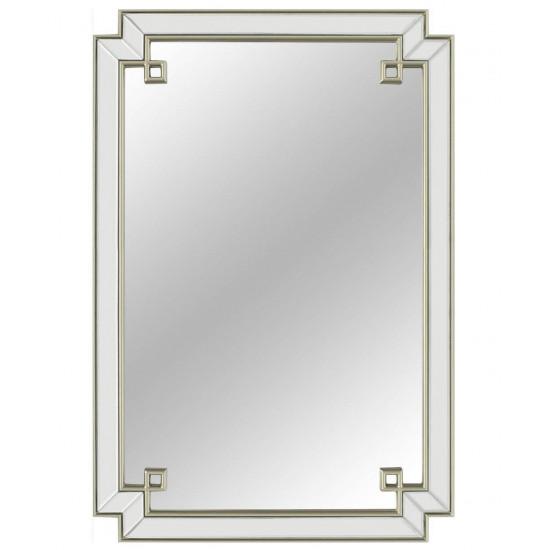 Зеркало в золотой раме York (Йорк) Silver в интернет-магазине ROSESTAR фото