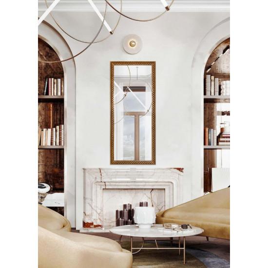 Зеркало большое напольное и настенное в полный рост Gold Edda в интернет-магазине ROSESTAR фото