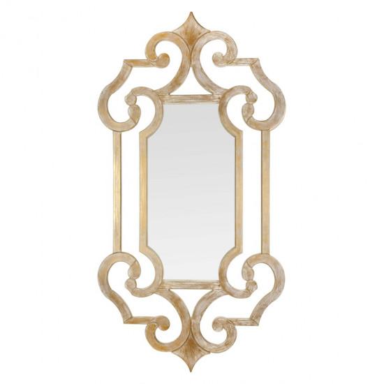 Зеркало настенное в раме Solemn Золото в интернет-магазине ROSESTAR фото