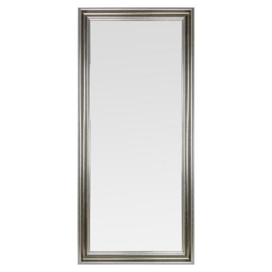 Зеркало настенное в полный рост в серебряной раме Santica в интернет-магазине ROSESTAR фото