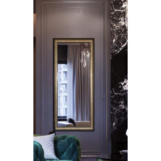 Зеркало большое напольное и настенное в полный рост в раме Goldie Золото, коричневый в интернет-магазине ROSESTAR фото