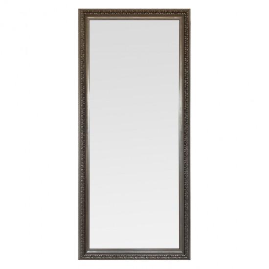 Зеркало большое напольное и настенное в полный рост в серебряной раме Rosalie в интернет-магазине ROSESTAR фото