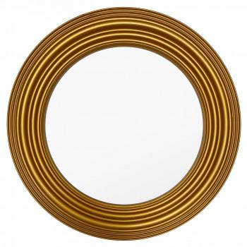 Зеркало круглое в золотой раме Tesoro