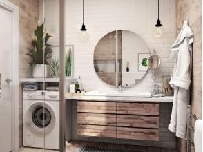 Как создать настоящий скандинавский стиль в ванной