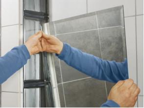 Как установить и подключить зеркало с подсветкой