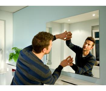 Как установить и снять зеркало