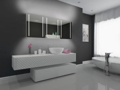 Советы и идеи по выбору и установке зеркала в ванную комнату
