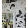 Большое настенное и напольное зеркало в полный рост «Милан» Белое в интернет-магазине ROSESTAR фото 1