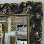Большое настенное и напольное зеркало в полный рост «Милан» Венге с Золотом в интернет-магазине ROSESTAR фото 1