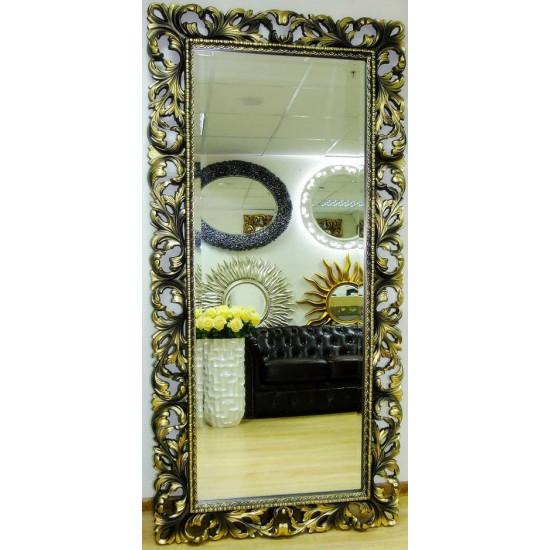 Зеркало в полный рост большое на стену/напольное в раме «Монако» Бронза в интернет-магазине ROSESTAR фото