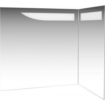Угловое зеркало с подсветкой Трио Люкс Правое