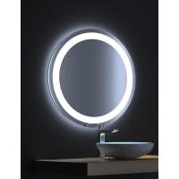Круглое зеркало с LED подсветкой Мун 100х100
