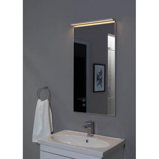 Зеркало в алюминиевой раме Сильвер 50х75 Серебро в интернет-магазине ROSESTAR фото
