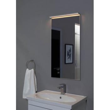 Зеркало в алюминиевой раме Сильвер 60х75 Серебро