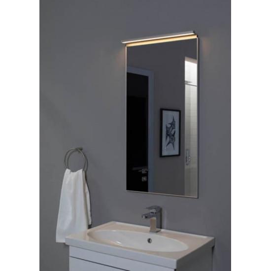 Зеркало в алюминиевой раме Сильвер 60х75 Серебро в интернет-магазине ROSESTAR фото