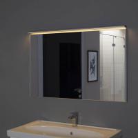 Зеркало в алюминиевой раме Сильвер 120х75 Серебро