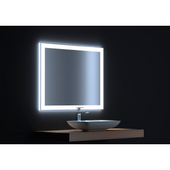 Зеркало с сенсорной LED подсветкой Сити 80х75