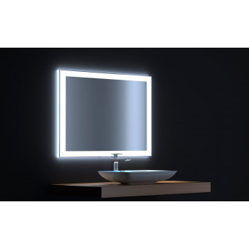 Зеркало с сенсорной LED подсветкой Сити 90х75