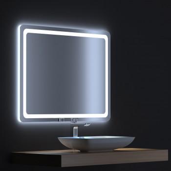 Зеркало с сенсорной LED подсветкой Смарт 70х75