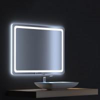 Зеркало с сенсорной LED подсветкой Смарт 90х75