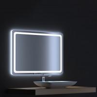Зеркало с сенсорной LED подсветкой Смарт 100х75
