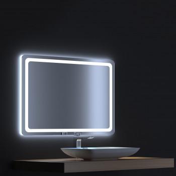 Зеркало с сенсорной LED подсветкой Смарт 120х75