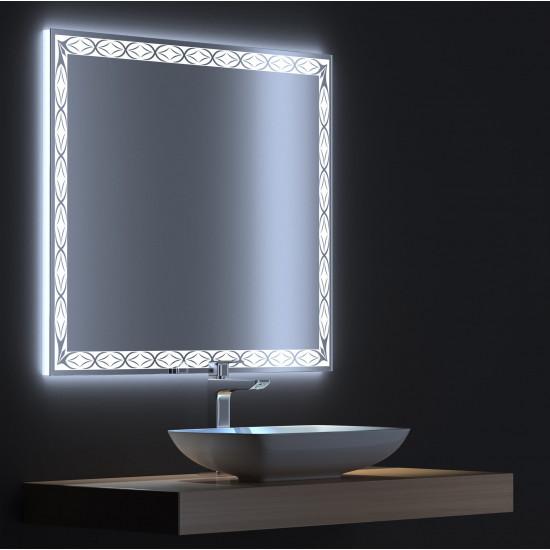 Зеркало с LED подсветкой Тренд 60х75 в интернет-магазине ROSESTAR фото