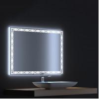 Зеркало с LED подсветкой Тренд 100х75