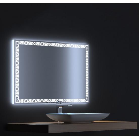 Зеркало с LED подсветкой Тренд 140х75 в интернет-магазине ROSESTAR фото