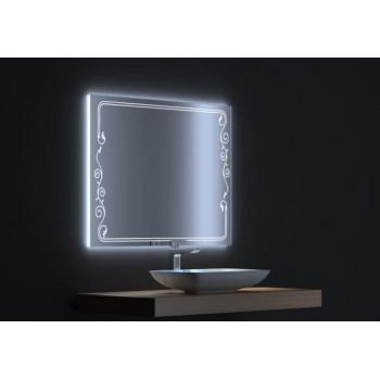 Зеркало с сенсорной LED подсветкой Венето 80х75